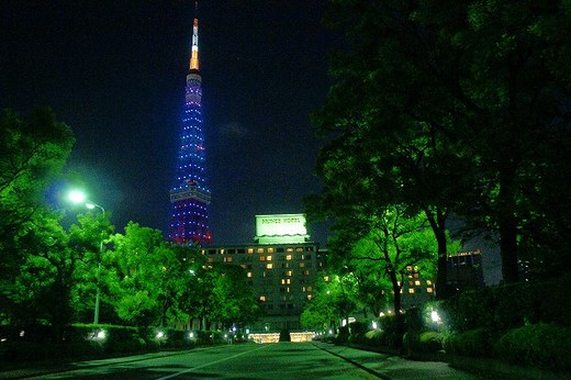 東京プリンス全景